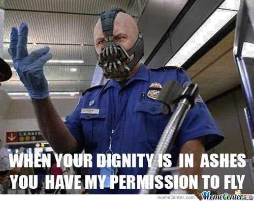 Airport Security Meme