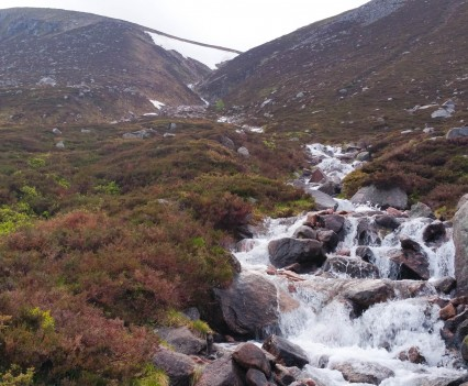 Waterfall down to Loch Avon - Martin Holand