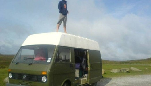 The First Time I Lived in a Van