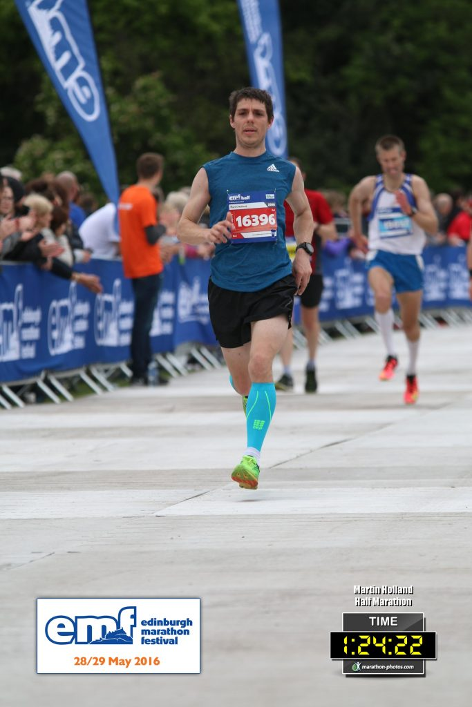 Edinburgh Half Marathon - Martin Holland - Soulchaser