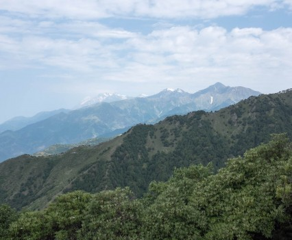 Martin Holland - 30th Birthday Summer Solstice Microadventure - View from Billing Hill, Himachal Pradesh, India