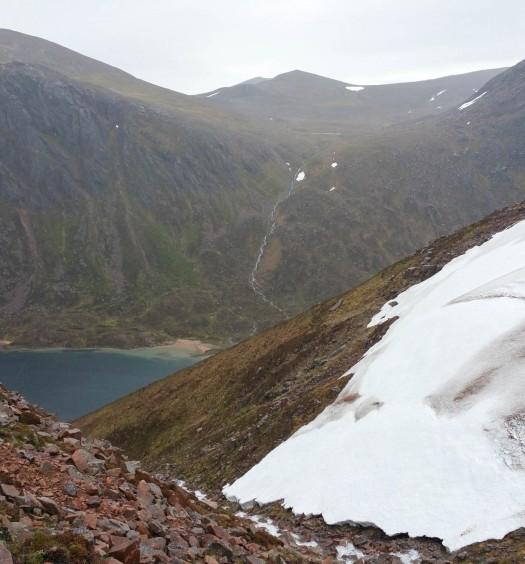 Looking down to Loch Avon - Martin Holland