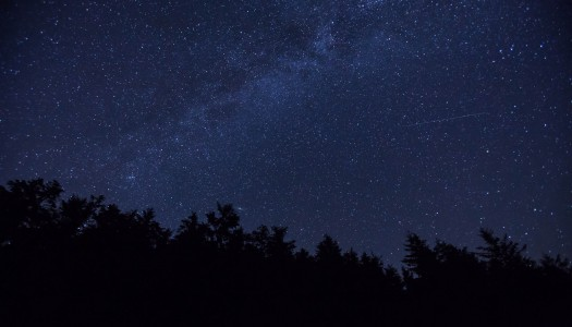 The Perseid Meteor Shower from the UK's Only Dark Sky Reserve